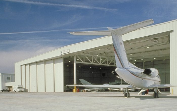 How To Construct a Wider Space of Hangars for Aircraft